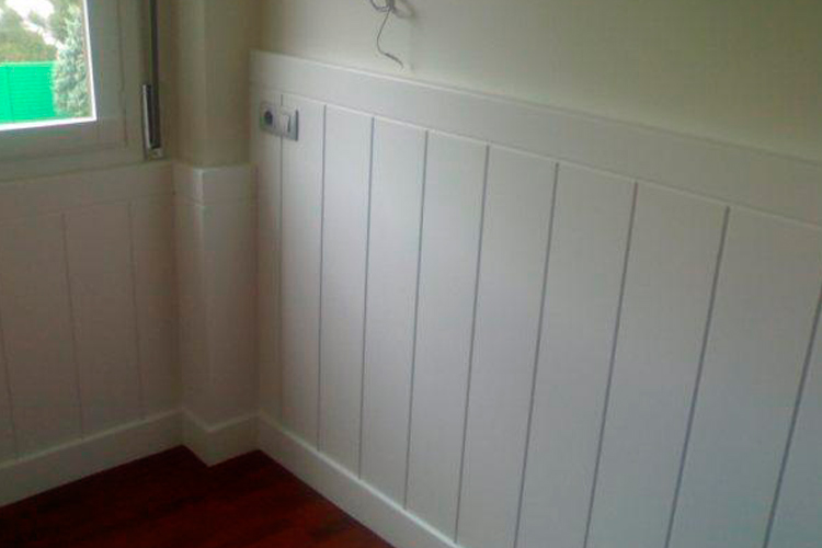 Frisos para pared ideas de disenos - Friso blanco pared ...